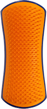 Detangling & Dog Grooming Brush-Navy and Orange